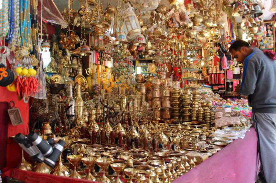 Shopping in Badrinath