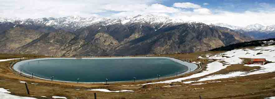 Image result for The Artificial Lake auli hd images
