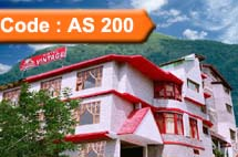 Hotel Vintage Manali- Volvo Package (Code:AS-200)