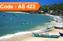 All Seasons Holiday Inn Resort Goa 4 Night (Code:AS-422)