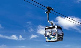 Enjoy cable car ride