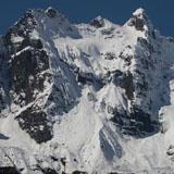 Glaciers in Munsiyari